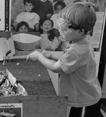 child at preschool